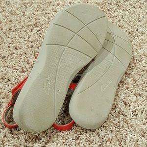 f958f47df1a Clarks Shoes - Clark s cloud stepper Sillian Spade Red Sandals